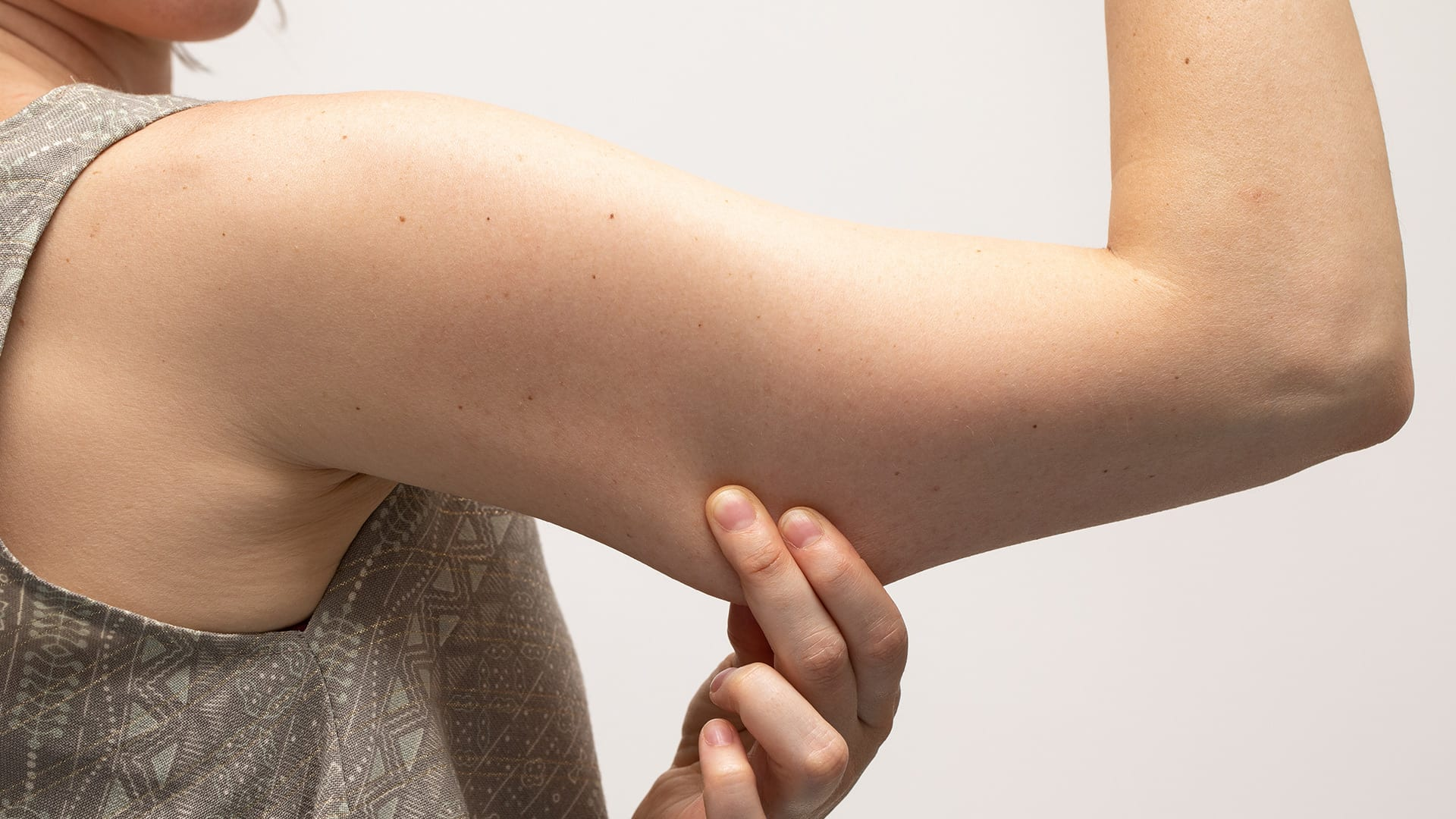 Tone 'em up: the remedies to firm up sagging arms.